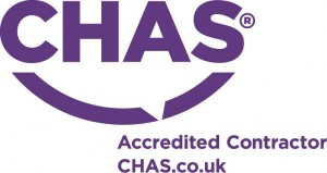 Chas purple logo