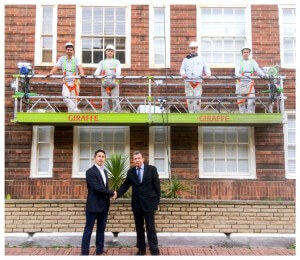 Pimlico Painters and Decorators secure Dolphin Square